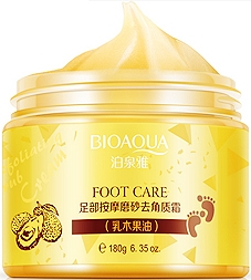Bioaqua foot massage scrub cream - массажный скраб для ног